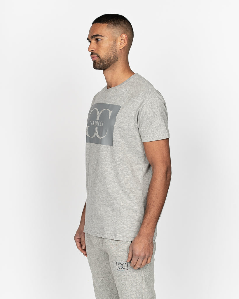 Luciano T-Shirt Light Grey Marl