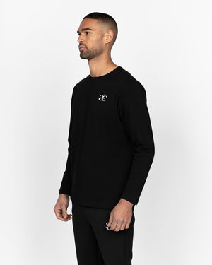 Renzio Long Sleeved T-Shirt Black