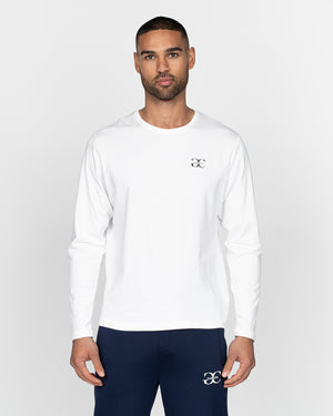 Renzio Long Sleeved T-Shirt White