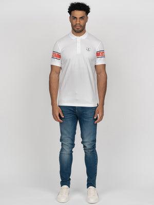 Demonte Polo White