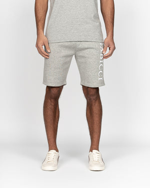 Fausto Fleece Shorts Light Grey Marl