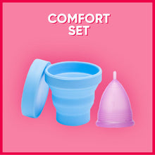 Load image into Gallery viewer, Comfort Set - Medical Grade Menstrual Cup Starter Set