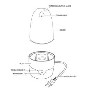 Cup-Mate Menstrual Cup Steam Sterilizer
