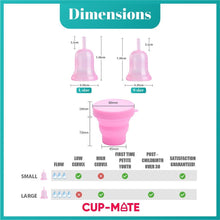 Load image into Gallery viewer, Comfort Guard Set - Liquid Silicone Menstrual Cup Starter Set