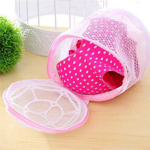 Home Use Lingerie Washing Mesh Clothing Underwear Organizer Washing Bag Useful Mesh Net Bra Wash Bag zipper Laundry Bag 2019