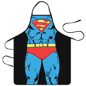 Funny Muscle Man Creativity Kitchen Apron