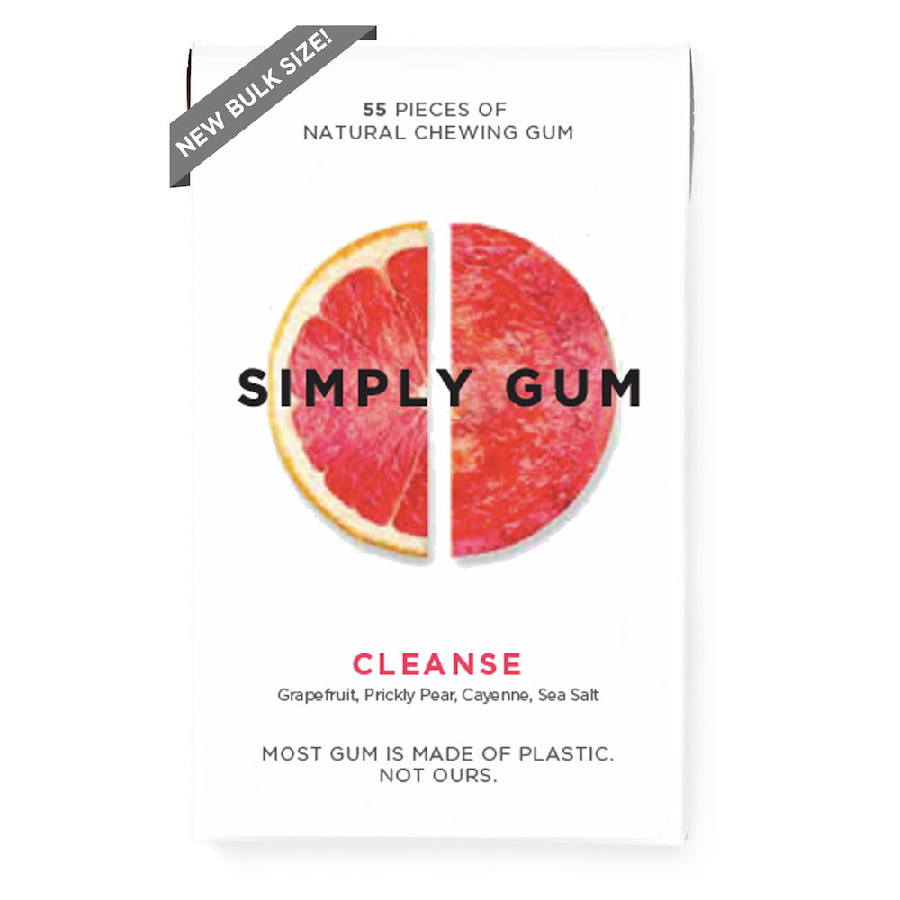 Cleanse Gum- 55 Piece Bulk Pack
