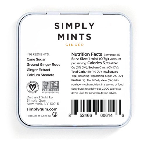 Simply Mints: Ginger