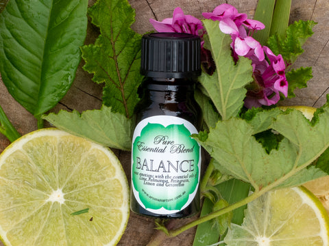 BALANCE Pure essential oil blend.