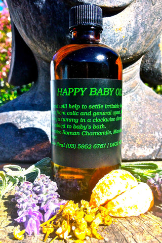 Happy Baby Massage Oil