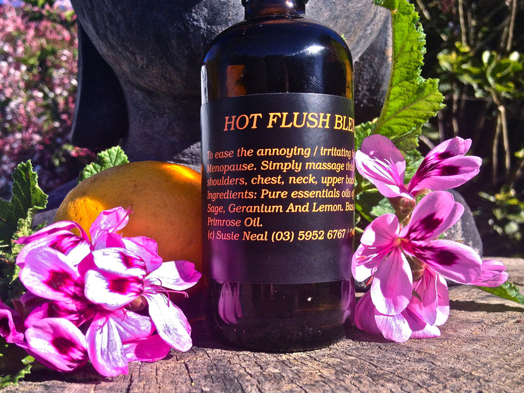 Hot Flush Massage Oil
