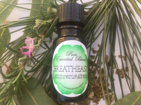 Pure Essential Oil Blend-Breatheasy