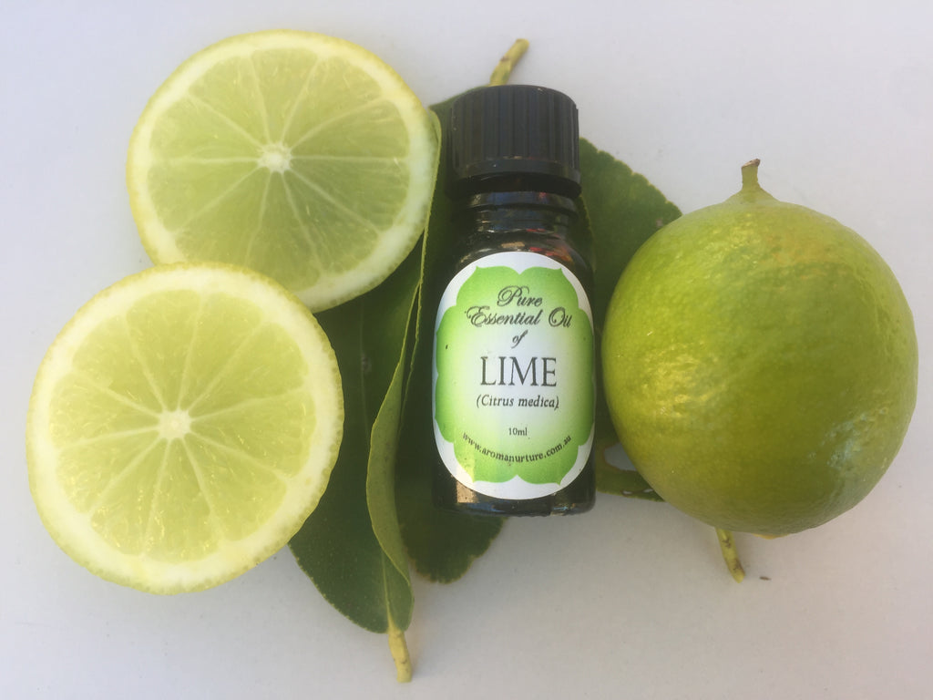 Pure essential oil of Lime-West Indian Distilled