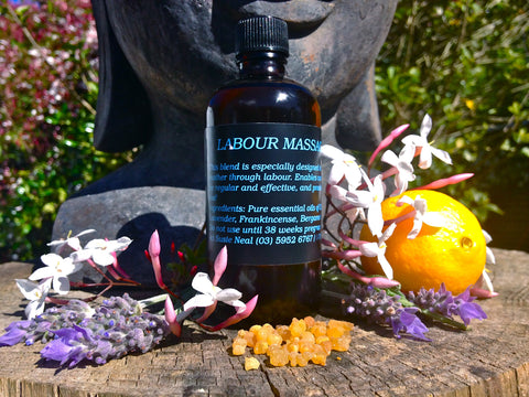 Labour Massage Oil
