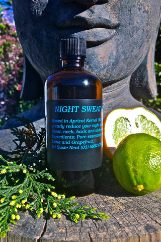 Night Sweat Massage Oil