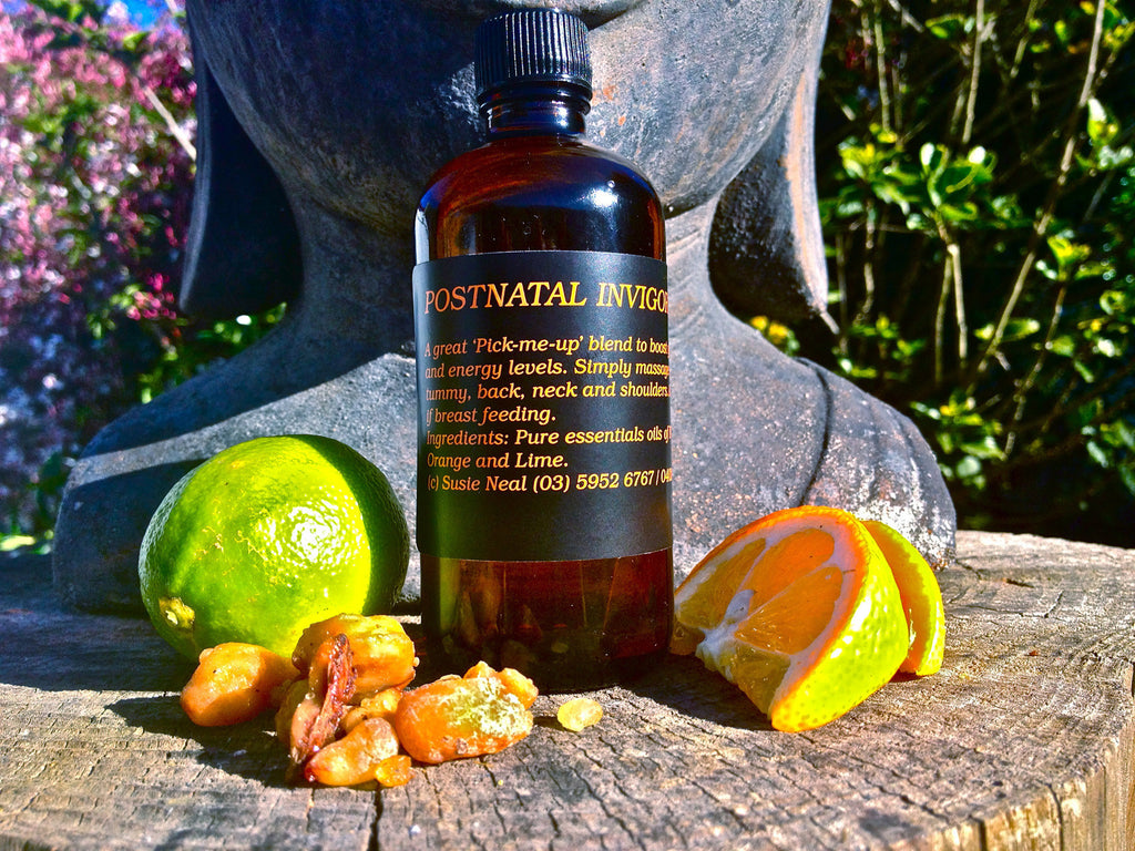 Postnatal Invigorate Massage Oil