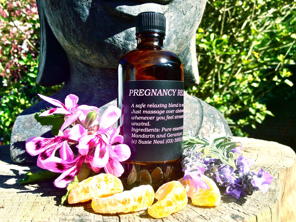 Pregnancy Relax Massage Oil