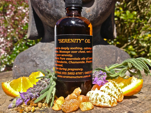Serenity Massage Oil