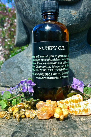 Sleepy Massage Oil