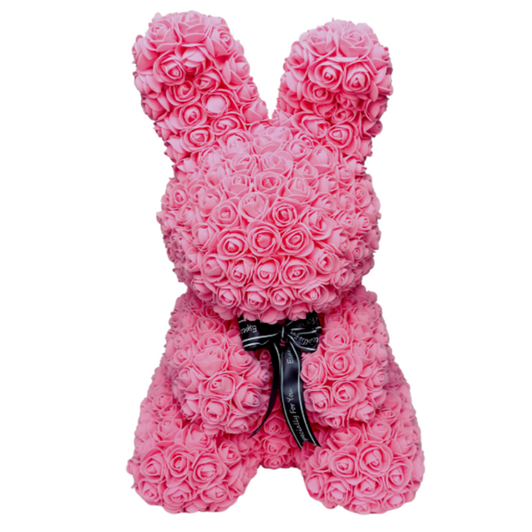 Pink Rose Bunny - Royal Rose
