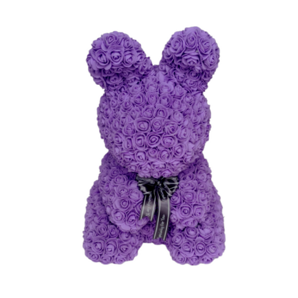Purple Rose Bunny - Royal Rose
