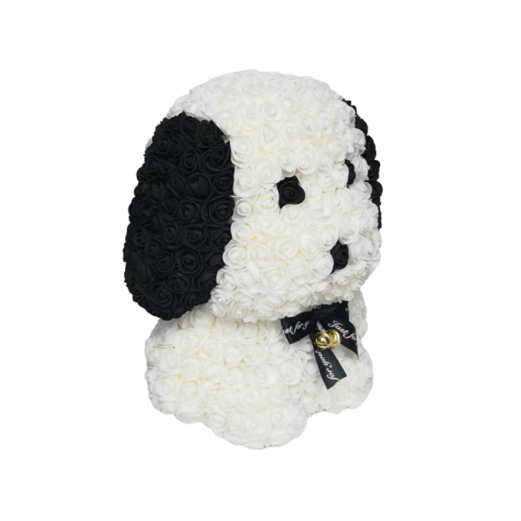 White Rose Snoopy - JTDESIGNSCO