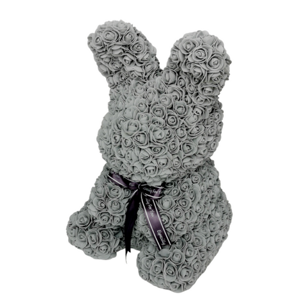 Grey Rose Bunny - Royal Rose