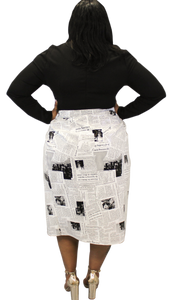 """Read All About It"" Skirt"