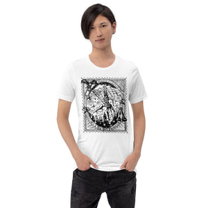 Open image in slideshow, Relaxed fit t-shirt unisex, stamp  print