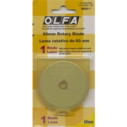 60mm Rotary Cutter Blades - 1-pack - Olfa