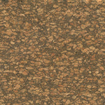 "Dark Natural - Cork Fabric 18""x15"" - 1 Roll"