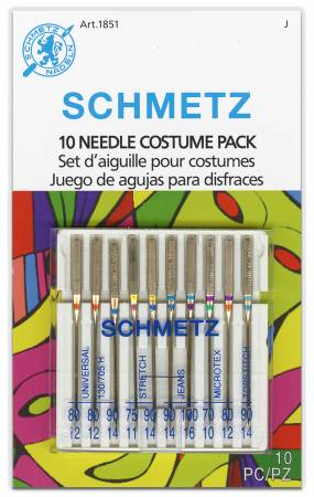 Schmetz 10 Needle Costume and Cosplay Pack