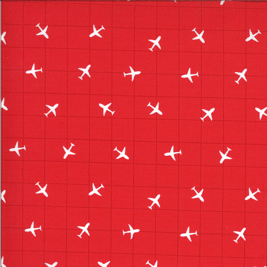 A grid with airplanes on airplanes