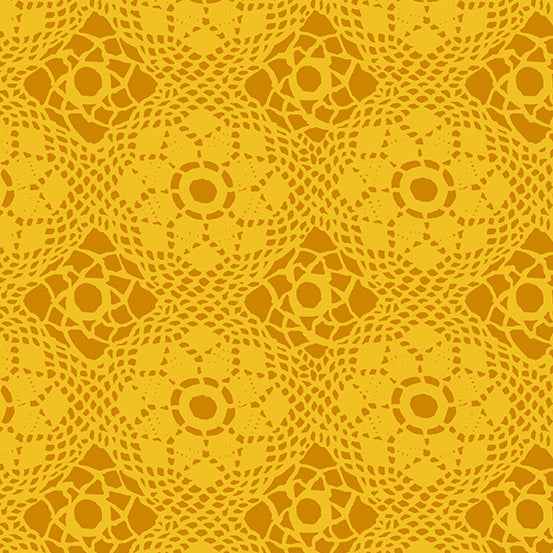 Yellow Lace design