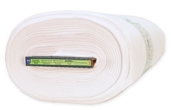 "Heavyweight Fusible Fleece - White - 45"" - Pellon - 1/2 metre"