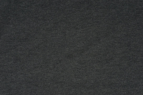 Anthracite - Tencel Organic Cotton Spandex FRENCH TERRY - 1/2 metre