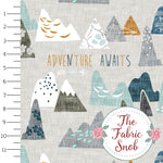 Adventure Awaits Earth - Esther Fallon Lau Round 2 - 1/2 metre
