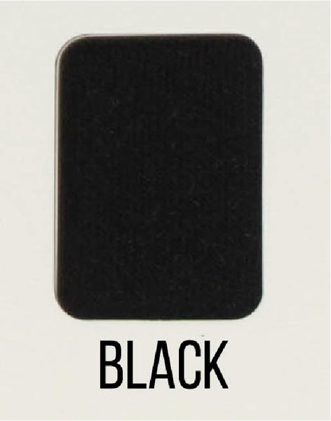 Black - LUXE Solids FRENCH TERRY - 1/2 Metre