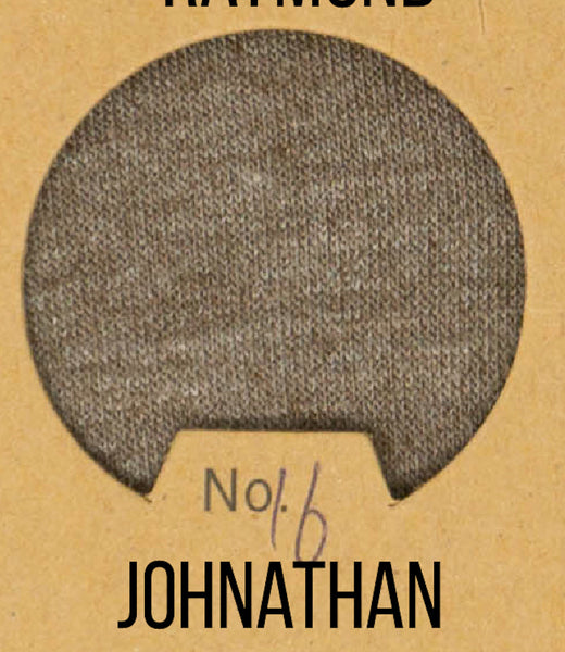 Johnathan - Boyfriend Wash Jersey Knit - 1/2 Metre