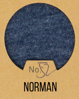 Norman - Boyfriend Wash Jersey Knit - 1/2 Metre
