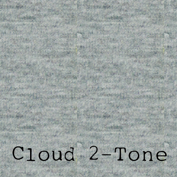 Cloud 2-Tone - LUXE Solids Jersey Knit - 1/2 Metre