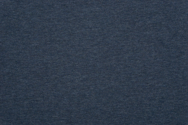 Coastal Heathered -  Tencel Organic Cotton Spandex FRENCH TERRY - 1/2 metre