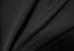 Black - Two-Way Twill - 1/2 metre