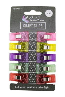 Fabric Clips 10pc 3.5x1.8cm