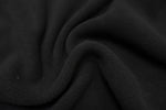 Black - Glacier Fleece - 1/2 metre