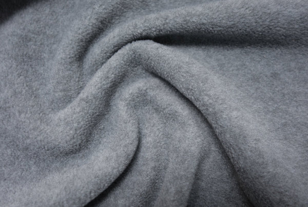 Charcoal Melange - Glacier Fleece - 1/2 metre