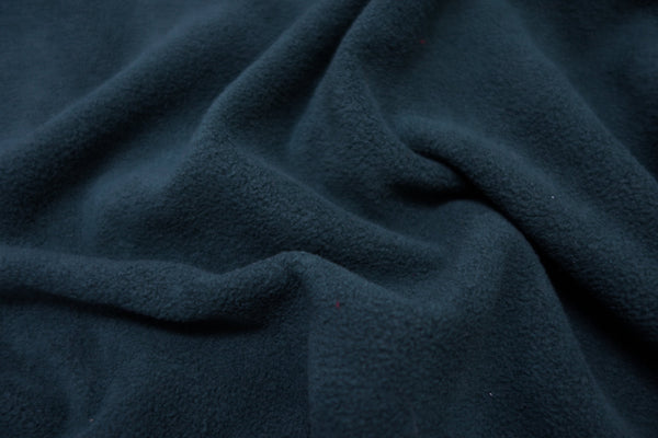 Navy - Glacier Fleece - 1/2 metre