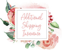 Additional Shipping Insurance - $100 coverage