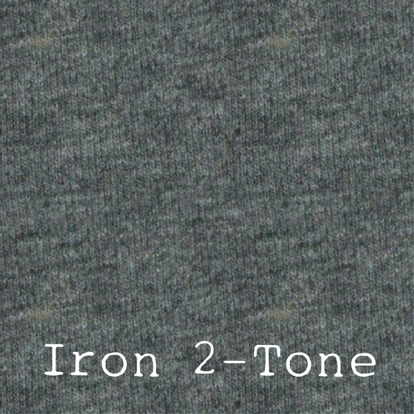 Iron 2-Tone - LUXE Solids Jersey Knit - 1/2 Metre