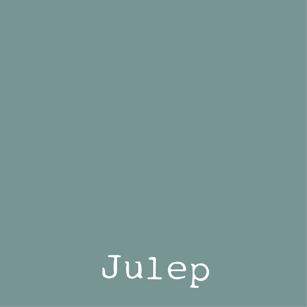Julep colored fabric Jersey green blue